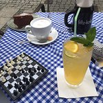 Dessert, Limonade, Cappuccino