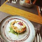 Goats Cheese & Caramelised Onion Tart // Ox Cheek Hash