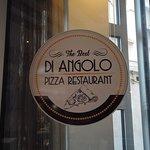 Di Angolo Pizzeria entrance sign