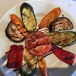 Grilled veggies for an appetizer.... fabulous!!