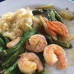 The garlic shrimp. Basic but good.