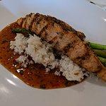 The Scottish salmon, great dish