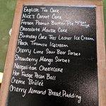 The dessert board