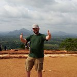Ronnie & Baba srilanka happy tours,at Sigiriya
