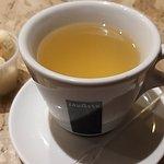 Chá de abacaxi do aipo,  para outras consumidores no restaurante,  o melhor chá de abacaxi do Rio de Janeiro! Todos os colaboradores muito gentis,  em especial a Micleode