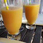Délicieux cocktail au rhum