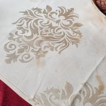 Yup, this is the table cloth :) very clean as you can see..