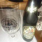 Cerveza negra local