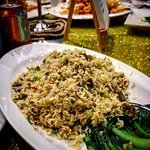Fried rice with lobster