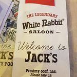 Bilde fra The Legendary White Rabbit Saloon