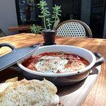 Cazuela bistro, una de varias opciones para el desayuno