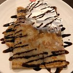 The crepe station was super!