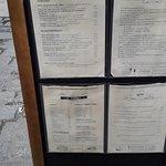 Museu del Vermut Restaurant. Carta