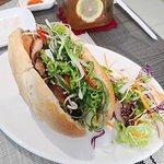 Vietnamese sandwich (bahn mi)
