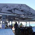 Restaurn floating pontoon