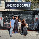 King's Coffee Shop resmi