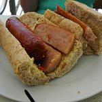 A Lovely Sausage Sandwich