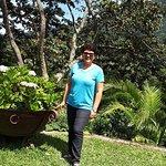 En los jardines de Cajamarca