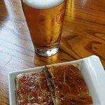 Cerveza y empanada