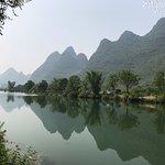 The Yulong river in Yangshuo