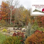 Cherry Ridge Retreat's Observatory cabin firepit area