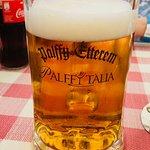 Restauracja Pálffy Itália, Győr, Węgry, dobre węgierskie piwo.