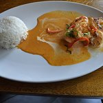Red Prawn Curry, special of the day
