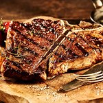grilled t-bon steak