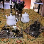 Herbata z konfiturami