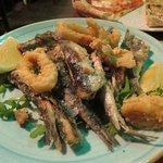 Third Course - sardines, octopus and squid
