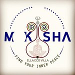 #moksha eco villa #Ella Sri Lanka #logo