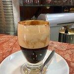 Caffè nocciolato, strong and sweet