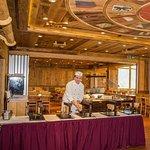 Foto de Restaurant le Montagnard - Hotel Central Résidence