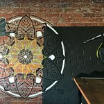 Our soulful mural, by local artist Tracey Waddell