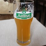 Craft wheat beer on offer
