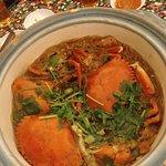 螃蟹冬粉煲