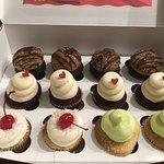 Salted Caramel, Red Velvet, Piña Colada, & Margarita Cupcakes