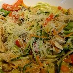 Zoodle Primavera with Chicken