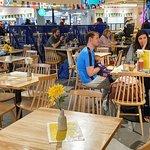 Pleasant dining area