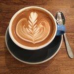 Flat White Durham Cafe照片