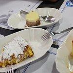 Tarta de queso, Tarta de almendras y Tarta de tres chocolates