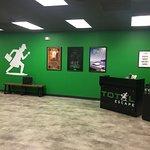 Total Escape lobby - prep for adventure!