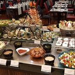 This is only a small part of the buffet