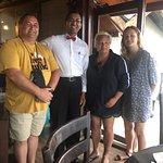 Adhikari .. the best waiter in Sri Lanka!