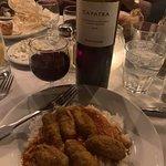 amazing food and wine