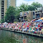 2019 Reston Museum's Lake Anne Cardboard Boat Regatta