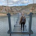Bilde fra Rosedale Suspension Bridge