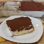 The our Home made Tiramisù