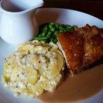 Slow Roasted Pork Belly very tasty