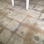 """I just loved the stone marble-like flooring that added to the """"old world"""" rustic feel of the res"""